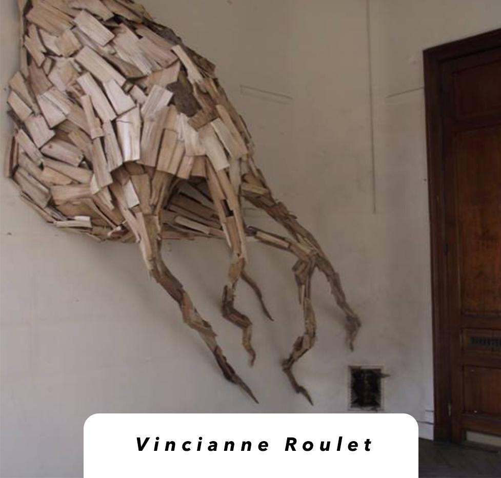 sculpture Vinciane Roulet