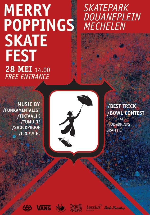 Merry Poppings Skate Fest