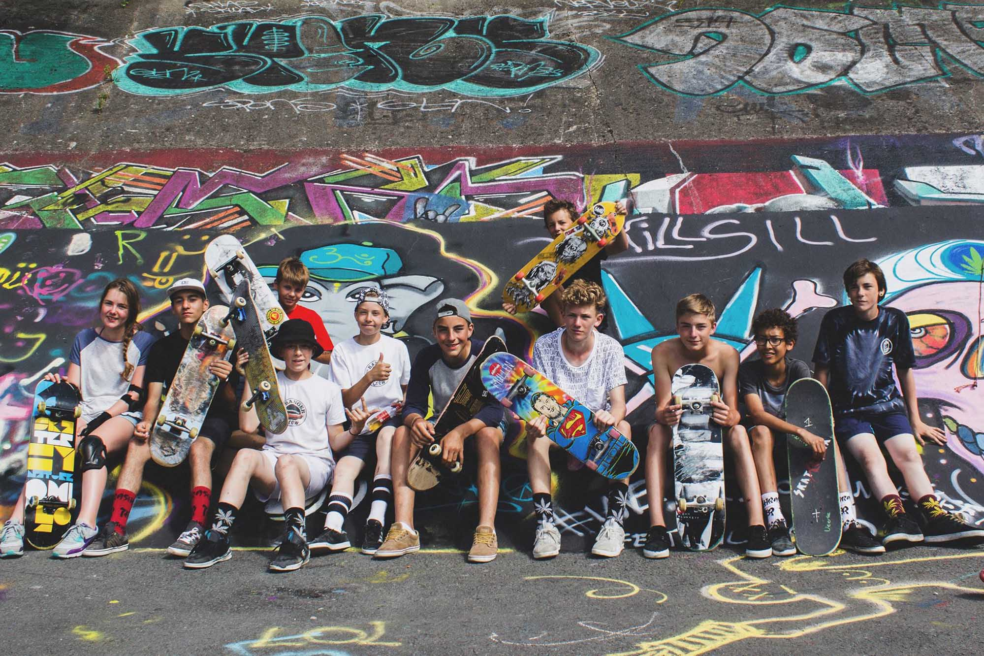 Skate Camp Skatoria 2015