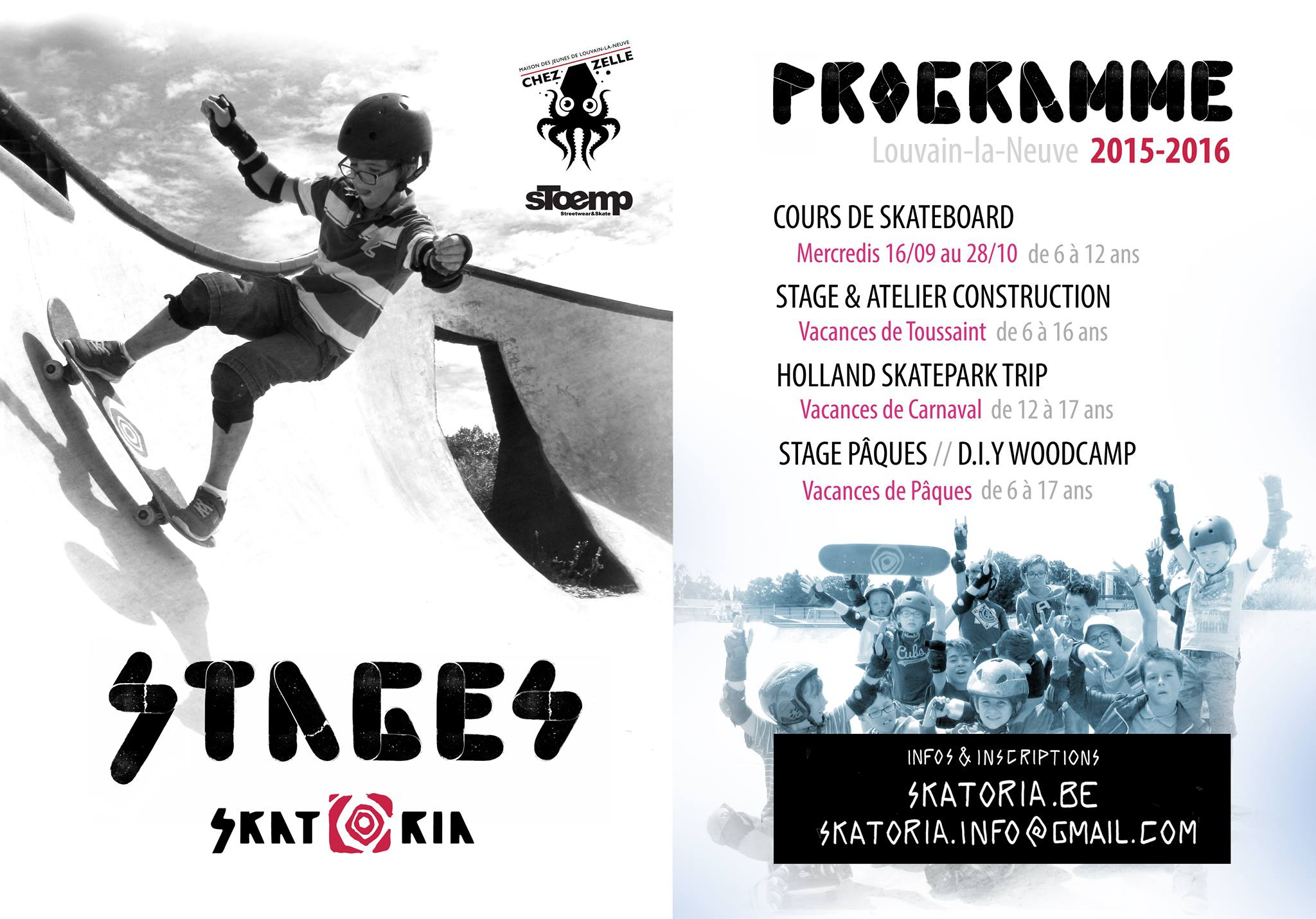 Cours et Stages 2015-2016