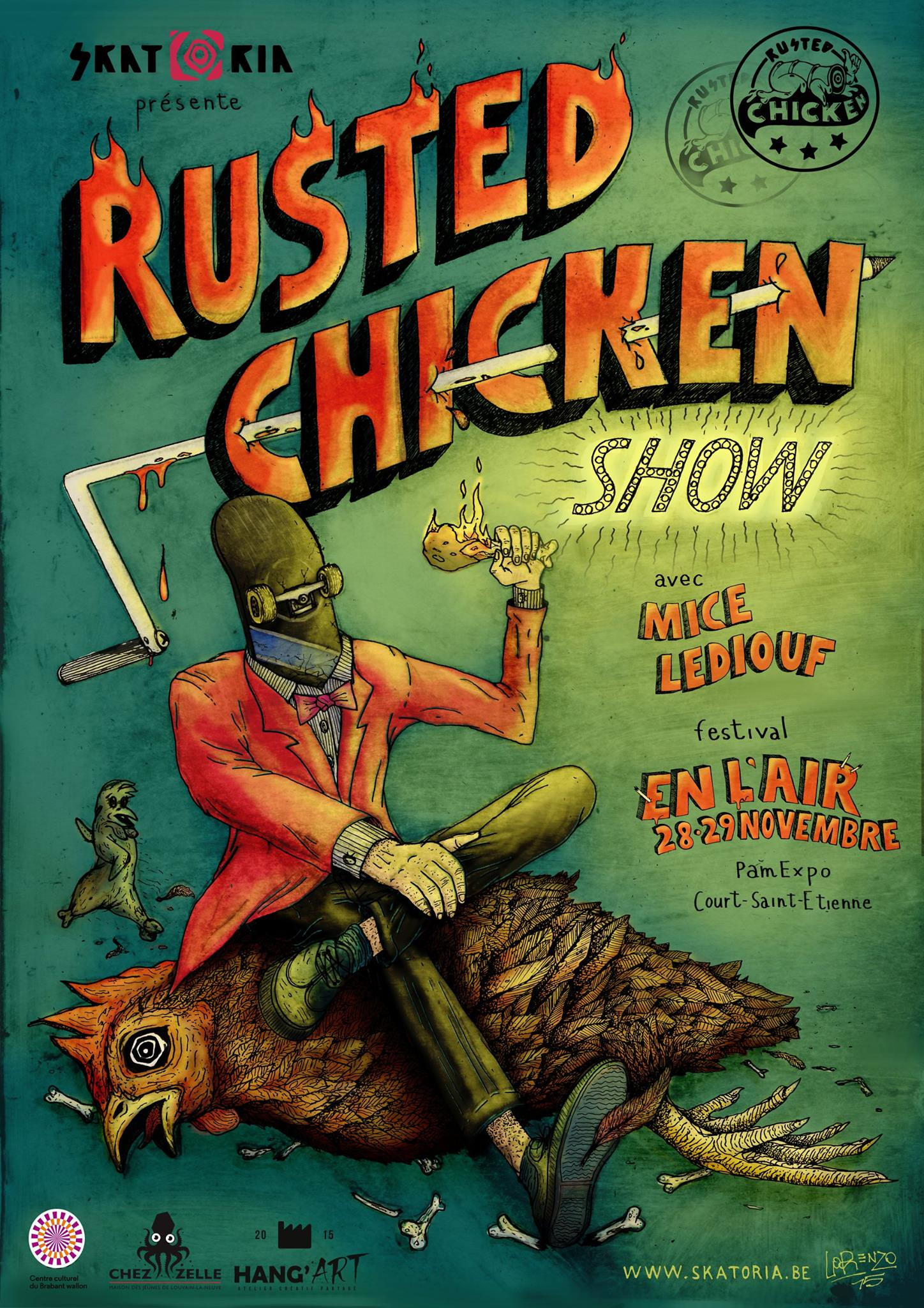 Rusted Chicken Show !