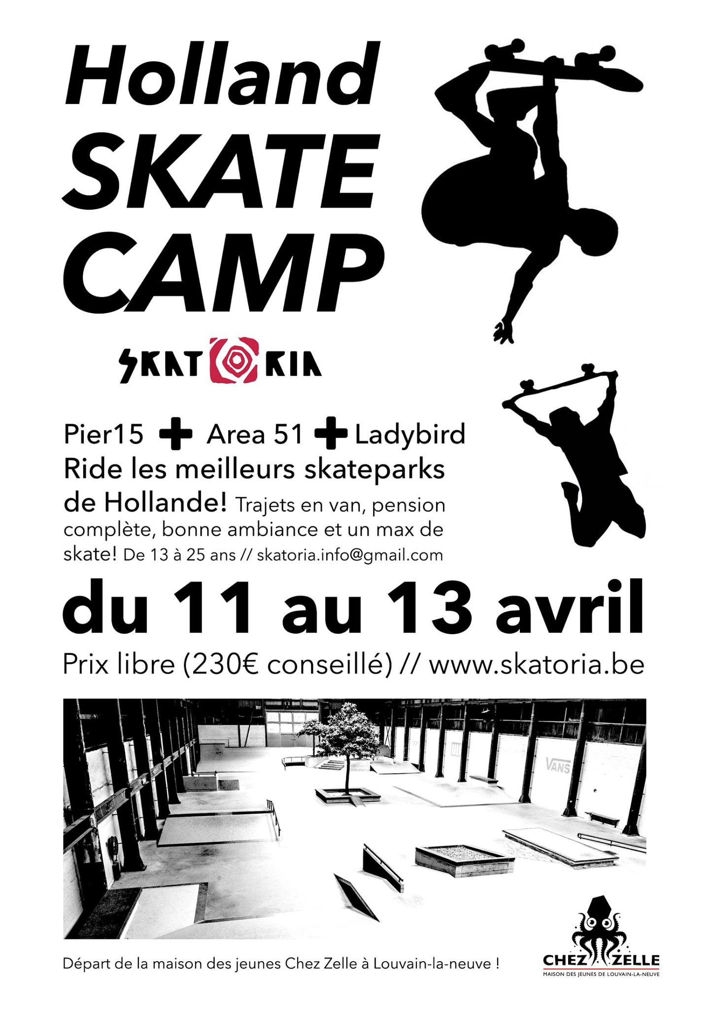 Holland Skate Camp 2017