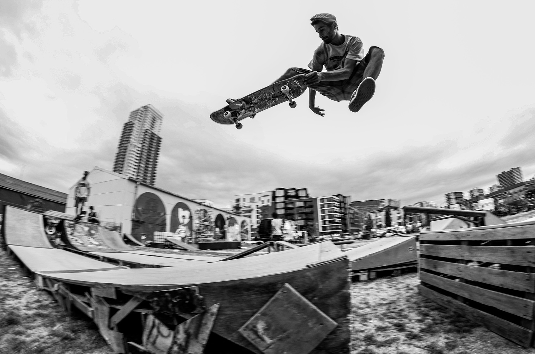 Photo de la DIY Skatepark Jam par Alexi Hennecker
